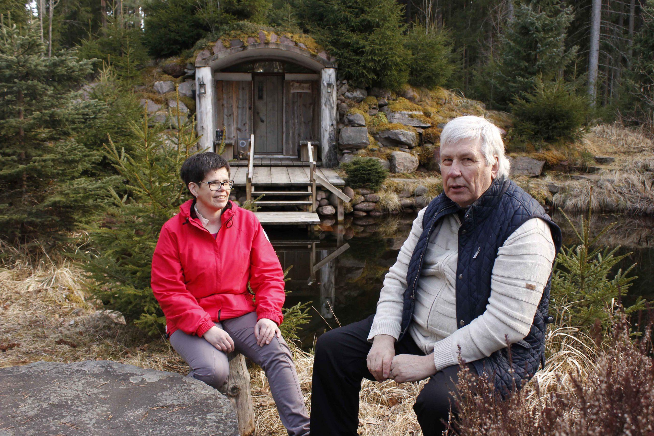 Kankaanpään Kaarnikka sauna Säkylä