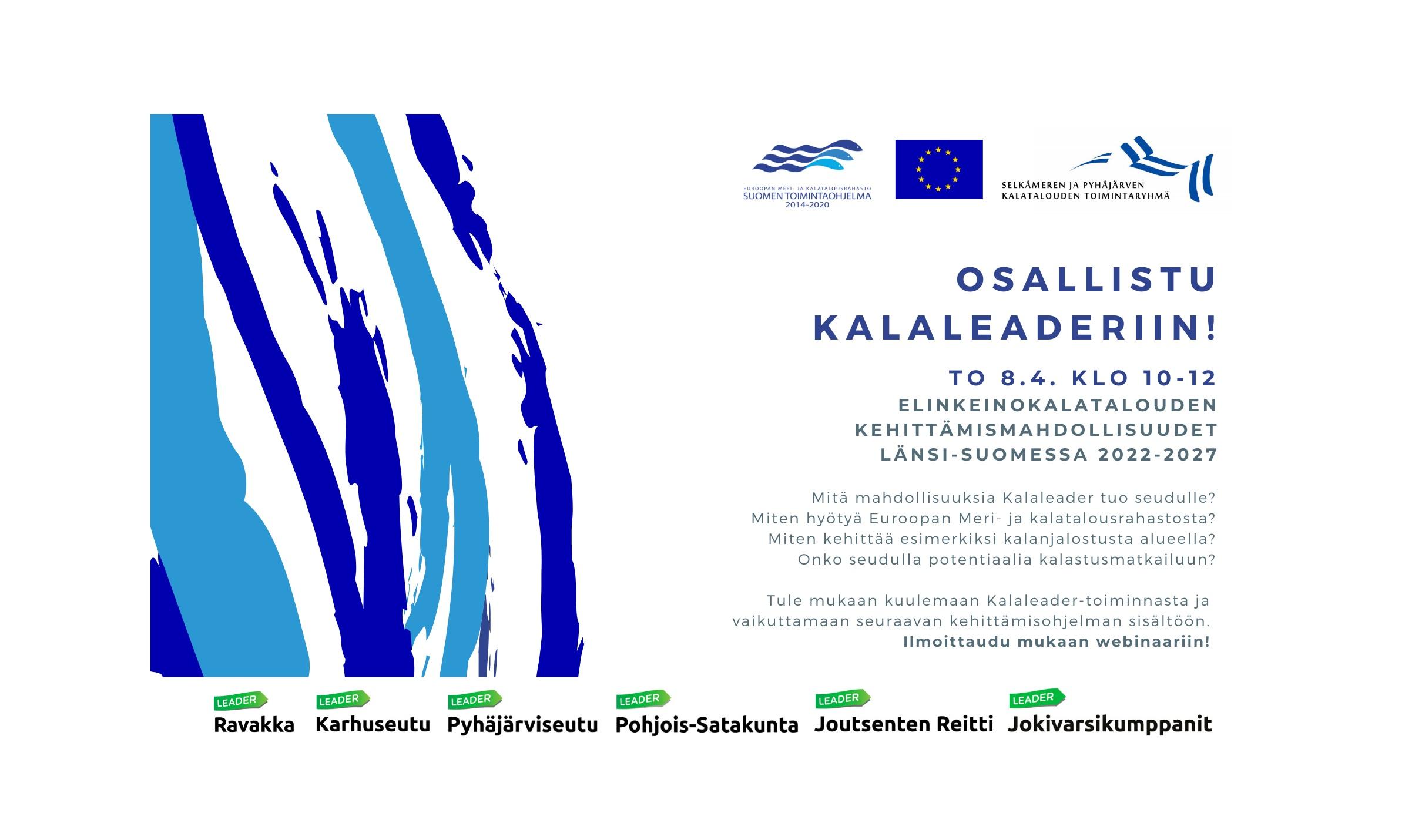 Osallistu Kalaleaderiin! ilmoitus 8.4.